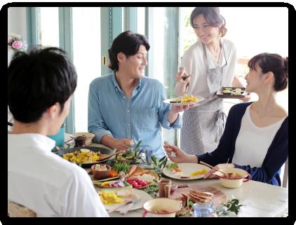 和食・洋食問わず、どんな料理にも合わせることができます。
